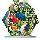 World Parrot Day 2013 Award