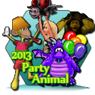 Party Animal's Award